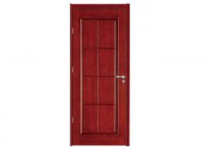 China House Wood Panel Door Sliding Swing Open Wenge Oak Walnut Wood Veneer Type on sale