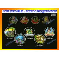 China Africa Multi 16 IN 1 Casino Board Games Casino Slot Machine Games gambling machine games casino video slot machines on sale