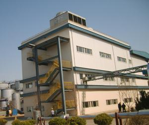 China Q345b Q235b Multi Storey Steel Frame Construction Steel Structure Frame Building on sale