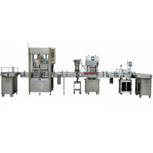 China Automatic Bottle Water Washing Filling Capping Labeling Machine Electronic Cigarette Liquid Filling Production Line on sale
