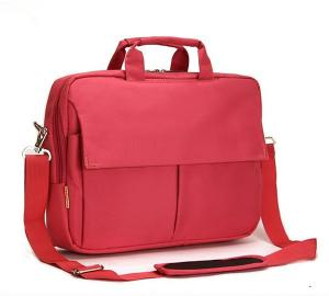 China Red Nylon Laptop Carrying Bag Portable Durable With Handle For Gift on sale