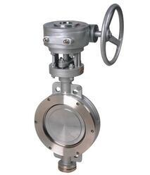 China Cast Steel Gate Valve Worm Gear Operated Wafer Type Butterfly Valve Graphite Flexible on sale