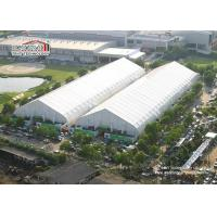 China White Heat Resistant Storage Hangar Tent Waterproof Aluminum Prefabricated on sale