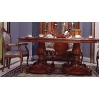 China Dining room furniture dining tables wood dining table set finish dining table LS-A612L-1 on sale