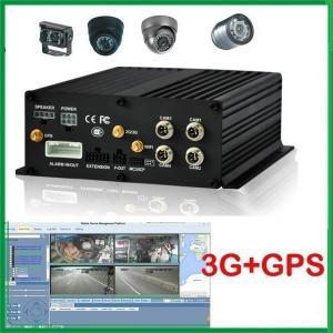China 3g 4g wifi gps cctv mobile dvr H 264 VIDEO COMPRESSION HDD anti-vibration on sale