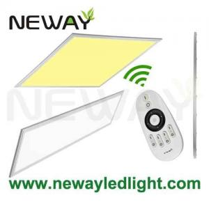 China Germany 1200x300 40W Dimmable Remote Color Changing LED Panel on sale