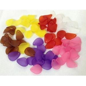 China acrylic leaf shape DIY accessories beads on sale