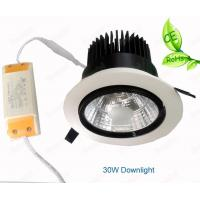 COB LED  Recessed Downlight 20W 30W Adjustable Angle For Lotte Shop Brightness Lamp