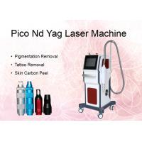 Nd Yag Laser Pigmentation Removal Machine Spot Size 1-8mm Adjustable