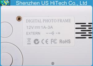 China Android 4.4.2 TFT LCD High Resolution Digital Photo Frame Built In Stereo Speakers on sale