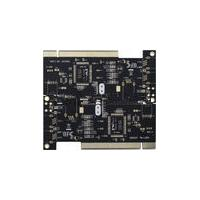 1 - 16 layer gold finger pcb board with fr4 , Lead free , Metal based 0.2mm hole size
