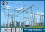 Electrical Substation Industry Power Substation Steel Structures Q235 , Q345