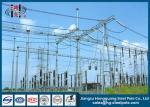 Structures métalliques Q235, Q345 de sous-station de sous-station électrique électrique d'industrie