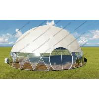 Luxury Geodesic Dome Tent , Popular Geodesic Camping Dome For Projecter or Projection Vedios