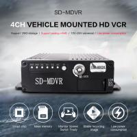 Small Size Black Video Recorder 8 Channel HD 720P SD Card MDVR With GPS 4G