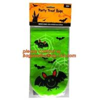 Halloween Candy Bag Basket Trick or Treat Pumpkin Tote Bag for Kids,gift decoration item Halloween cellophane treat bag