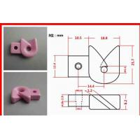 High Strength 99% Aluminum Oxide Ceramic Thread Guides With High Polishing