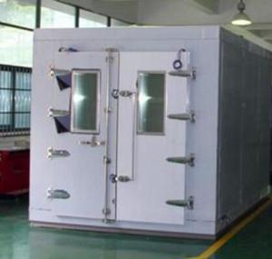 China PV Solar Panel Walk In Environmental Chamber With 10 TFT Colour Touch Screen Controller on sale