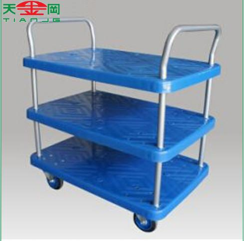 TJG high quality 3 Tiers Platform Cart Hand Trolley Truck for sale