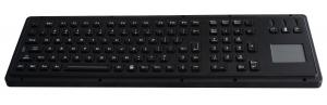 China 106 keys Illuminated USB Keyboard integrated Programmable with touchpad on sale
