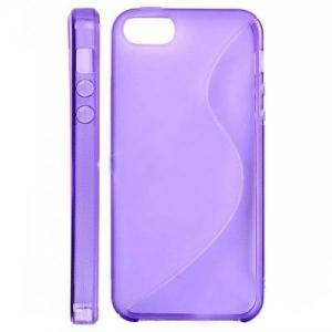 China Fashion light weight TPU + PC skidproof purple iPhone 4S TPU Cases / cover for ladyes on sale
