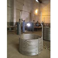 China titanium press tool pipe/titanium seamless pipe /condenser coil cooling on sale