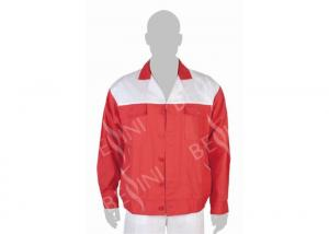China Comfy Mens Lightweight Work Jackets And Mens Work Bib Overalls Protective Clothes on sale