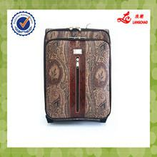 China Gray color two wheels trolley luggage item no.s135 trolley case africa on sale