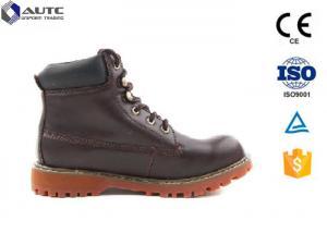 China Unisex Women'S Mens Work Boots Plate Water Penetration PU EVA Micro Fiber on sale