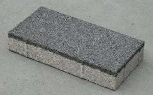 Quality Anti Slip Water Permeable Brick / Permeable Interlocking Pavers Fit Walking And for sale