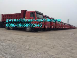 China Sinotruck  6 x 4 Driving 10 Tyres Heavy Duty  Dump Truck  336HP  Euro III Engine on sale