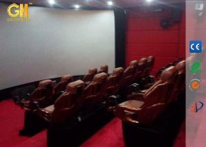 China 5D 7D 8D Cinema Motion Theater Seats With Rain Snow Wind Smoke Fog Effects on sale