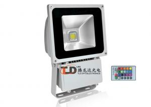 China Waterproof 60 Watt RGB LED Remote Control Outdoor Flood Light For Building 6000lm on sale