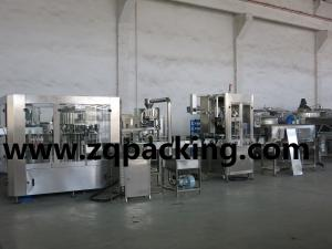 China Línea de embalaje auto de la botella de agua, cadena de producción de relleno auto del agua dulce on sale