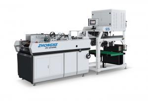 China Safety Corrugated Box Manufacturing Machine , Corrugated Paper Box Machinery on sale