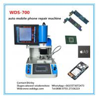 China Free training WDS-700 automatic Bga Rework Station Reballing Station mobile phone repair machine on sale
