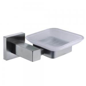 China bathroom design stainless steel Satin wall mounted soap dish holder on sale