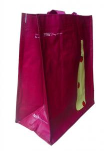 China laminated non woven wine bag on sale