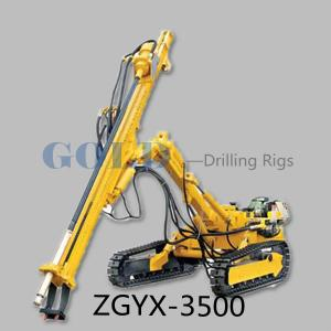 China ZGYX-3500 Hydraulic Down-the-hole hammer drilling rig blast hole drill rig on sale