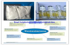 China Raw Material Testosterone Steroid Hormone Prop Testosterone Propionate for Muscle Gain on sale