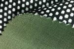 Lino de imitación fabric+TPU+mesh de la capa doble