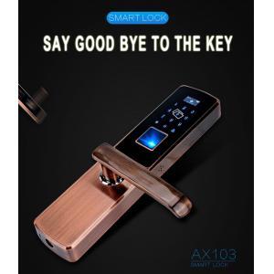 China Keyless Security Mortise Intelligent Biometric Electronic RF ID Card Home Smart Code Fingerprint Door Lock China on sale