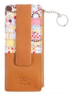 China Personalized Credit Card Holders Wallets Keyring Card Holder on sale