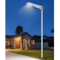 Solar Pole for Smart City PIR Motion Sensor Remote Monitoring Column Solar Street Light