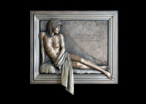 Quality Contemporary Sexy Nude Wall Sculpture For Indoor Decoration 200*180cm for sale