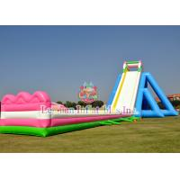 China Long Inflatable Beach Slide For  Party / Rental Business / Water Park on sale