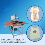 Guangzhou sell  60x80 double station heat press garment t shirt printing machine