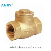 China 200 WOG Casted  Brass Swing Check Valve FemaleThread  BSP NPT Water Medium DIN ANSI JIS ISO228 Standard on sale