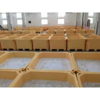 660L  Euro Rotomolding cooler fish totes and fish container frozen fish holding bin fish ice cooler box