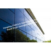 China Integrated Photovoltaic Fatades Solar Modules Glass Curtain Wall with Single Crystal Component on sale